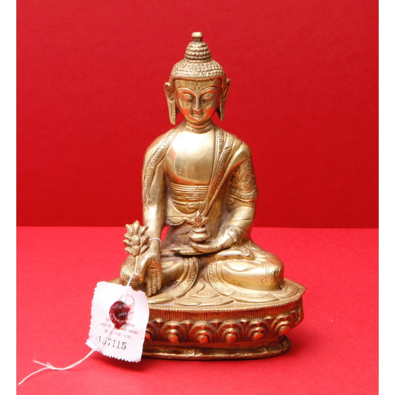 bouddha medecine sangye menla laiton 20cm