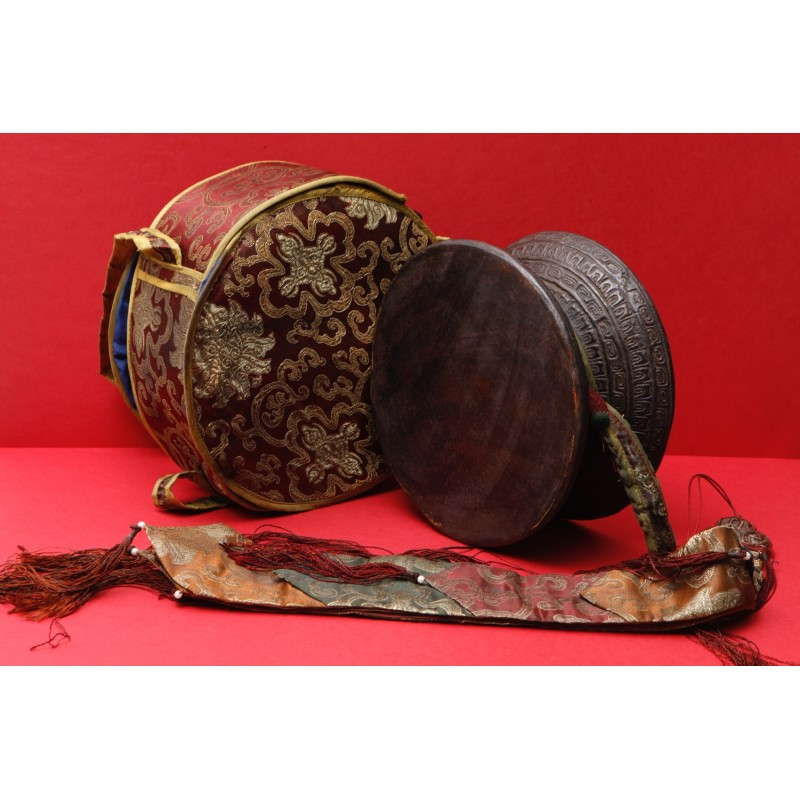 damaru ancien du kham
